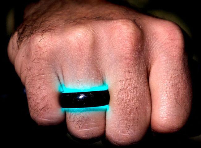 Carbon Fiber wedding rings 5