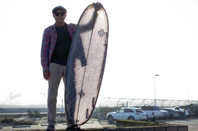 Durable Cardboard Surfboard 1