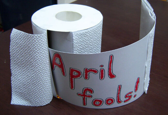 last minute april-fools prank ideas