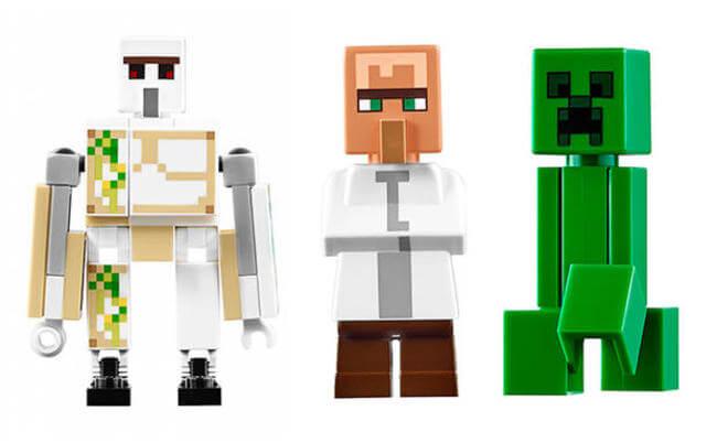 LEGO Is Creating a 1,600 Piece Minecraft Village Set 12