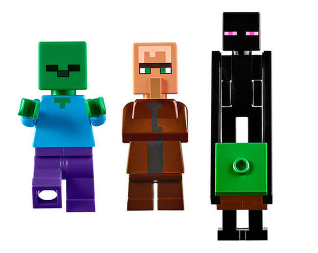 LEGO Is Creating a 1,600 Piece Minecraft Village Set 13