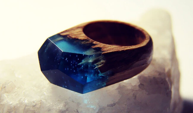 Miniature Wood Rings 9