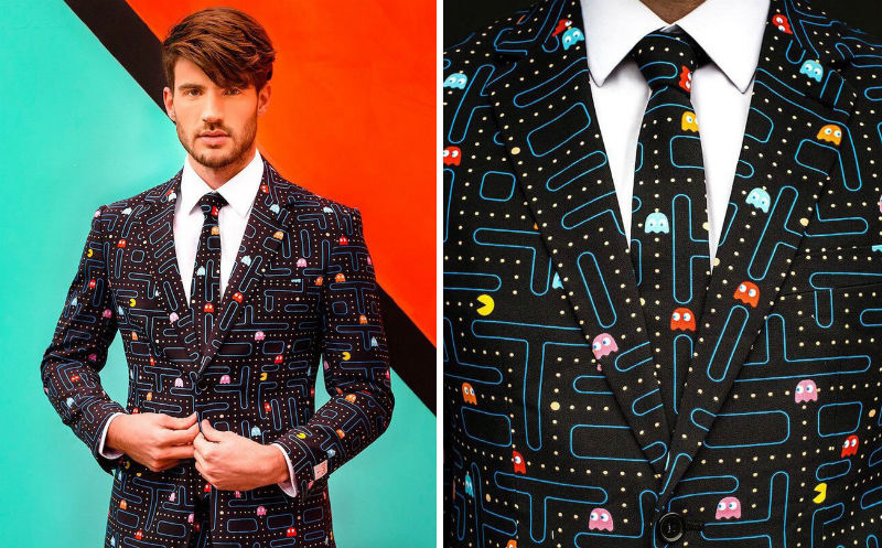 pac man suit feat