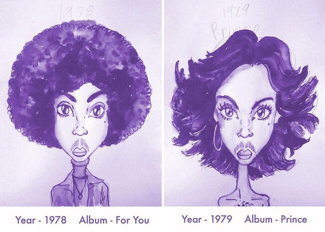 Prince's Hair Styles 2