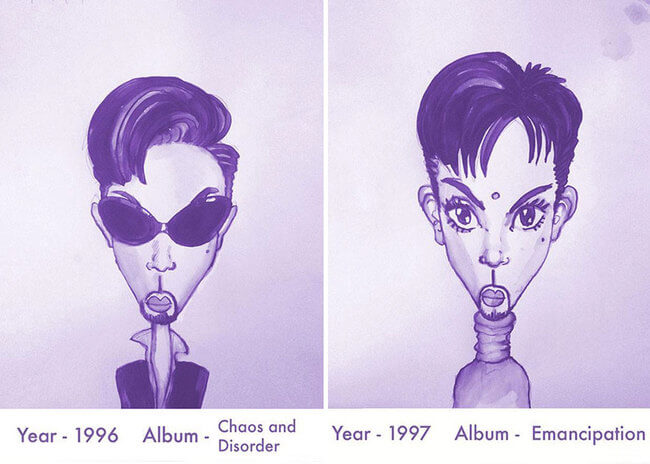 Prince's Hair Styles 11