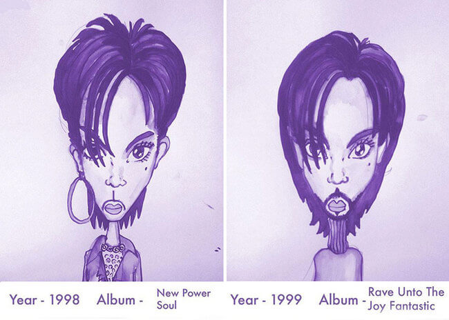 Prince's Hair Styles 12