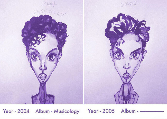 Prince's Hair Styles 15