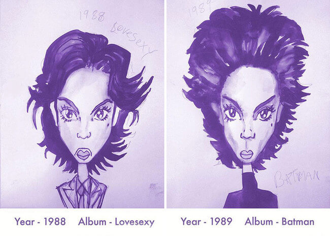 Prince's Hair Styles 7