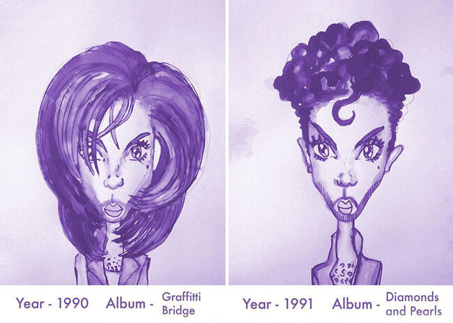 Prince's Hair Styles 8
