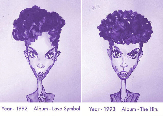 Prince's Hair Styles 9