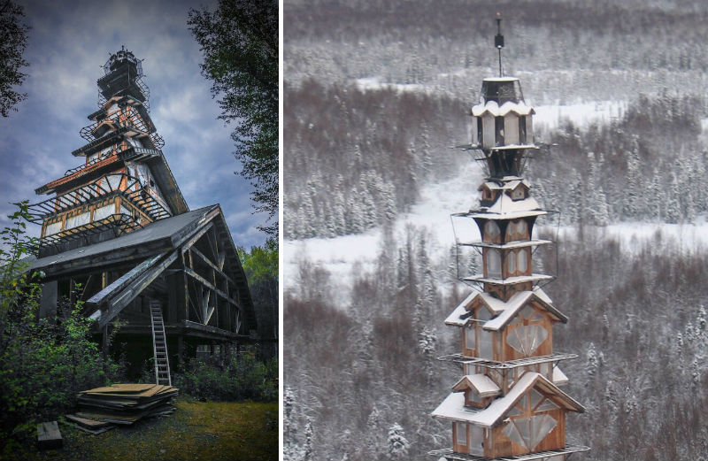 See The Mysterious Real Life Dr. Seuss House In Alaska