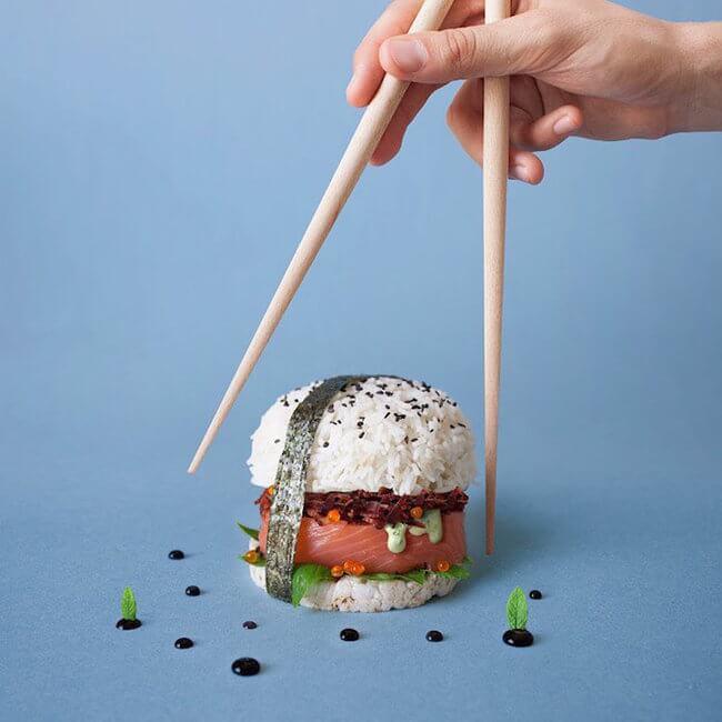 burger sushi 5