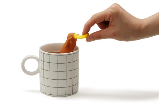 Tea Infuser Is Shaped Like a Platypus 4