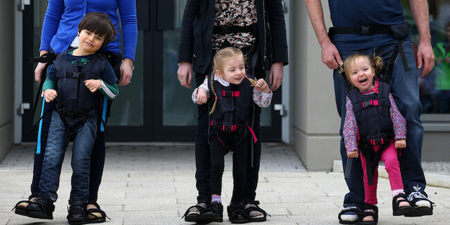 Harness That Allows Disabled Children to Walk 1