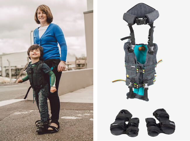 Harness That Allows Disabled Children to Walk 2