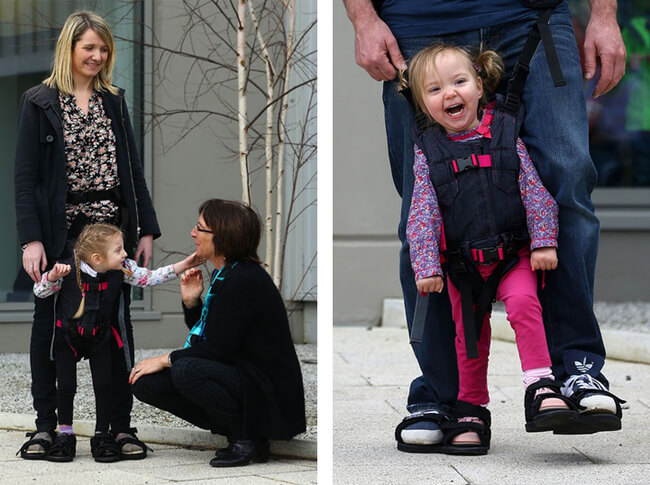 Harness That Allows Disabled Children to Walk 5