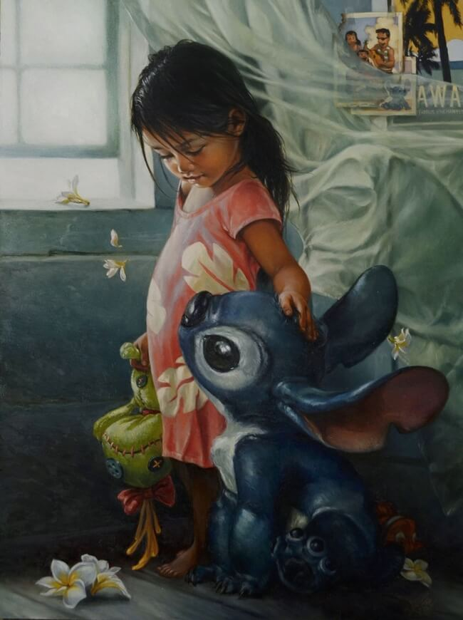 Disney Paintings as fine art 10