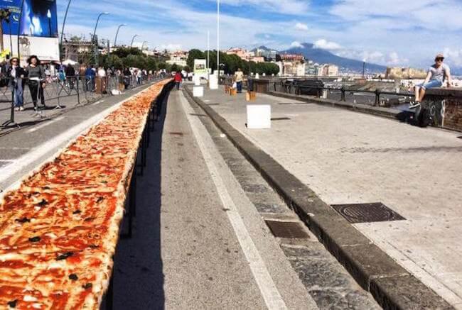 worlds longest pizza 1