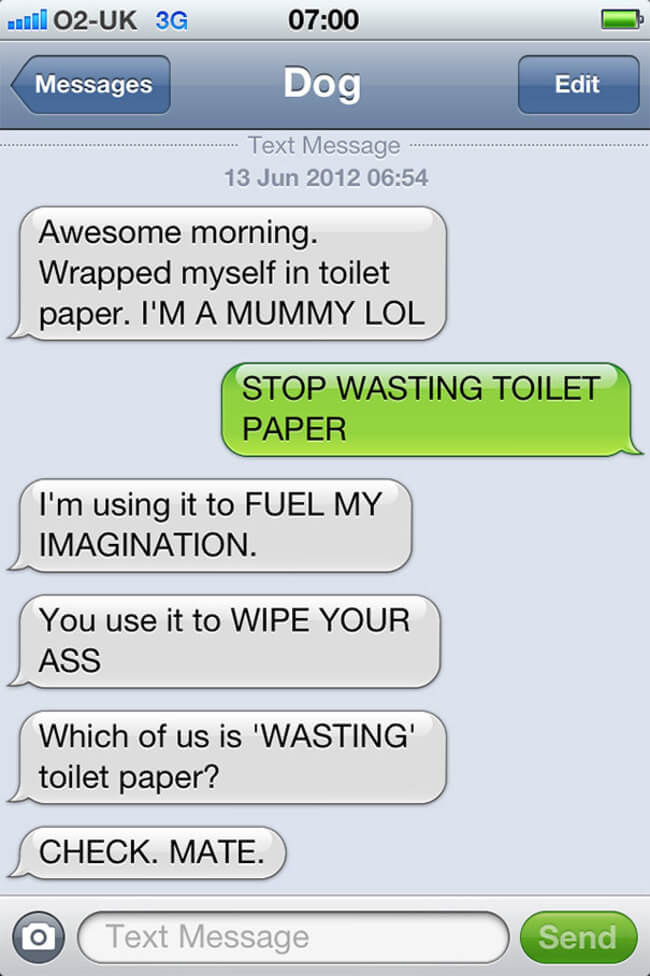 texts from funny dogs 9