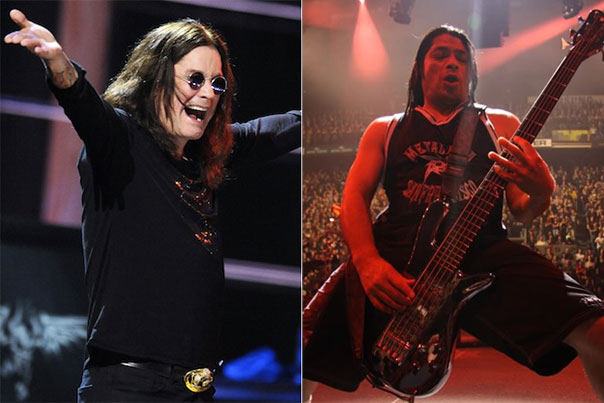 Ozzy Osbourne Robert Trujillo