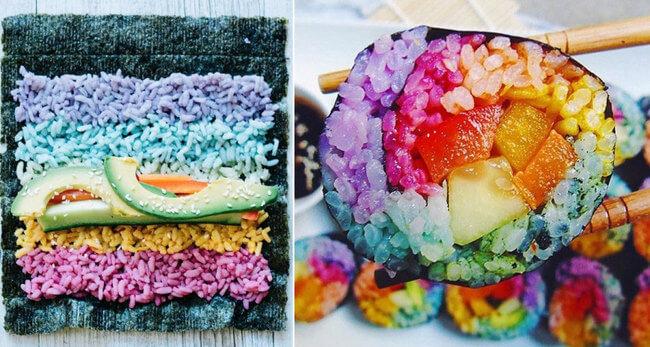 rainbow sushi 1