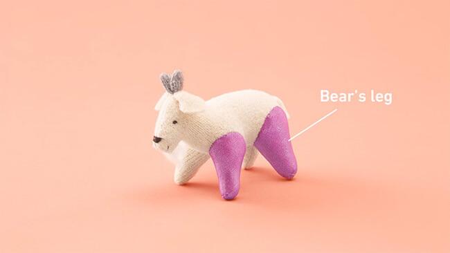 Stuffed Animals Get Limb Transplants 4