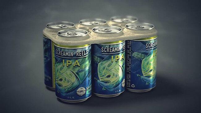 Edible Six Pack beer Rings 1