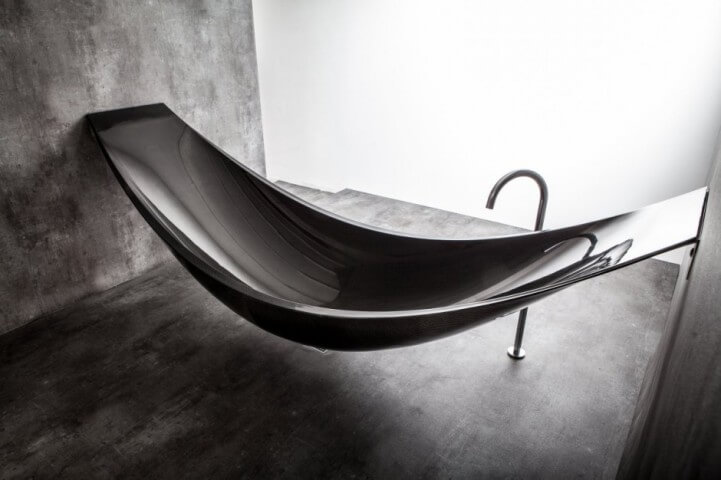 This Floating Hammock Bathtub Is A Gift Sent From The