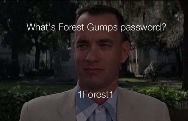 stupid haha jokes - whats forest gumps password 27