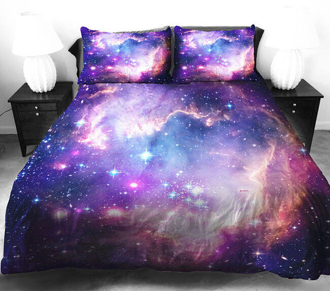 galaxy bedding 2