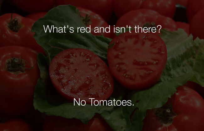 stupid funny jokes - whats red and isnt there 31