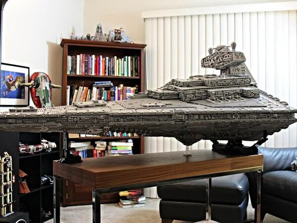 Incredible 70 Pound LEGO Star Destroyer (1)