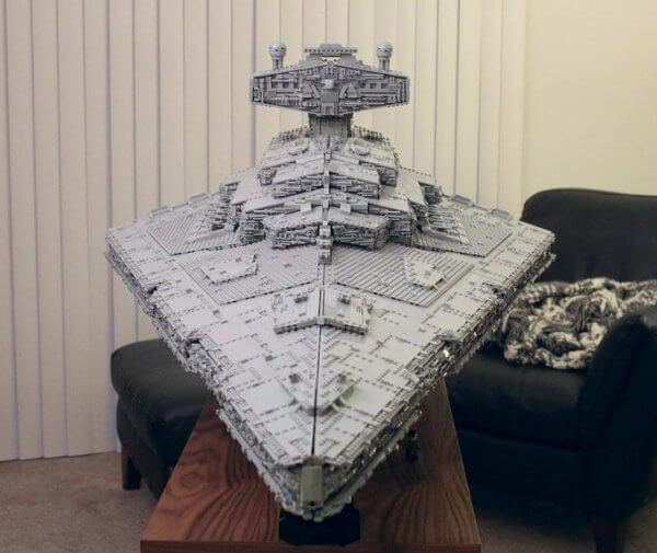 Incredible 70 Pound LEGO Star Destroyer 2 (1)