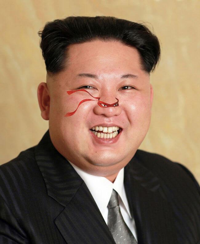 Newly Released Portrait Of Kim Jong-un 2