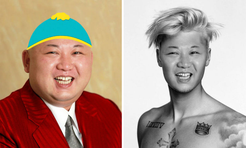 kim jong un photoshop battle