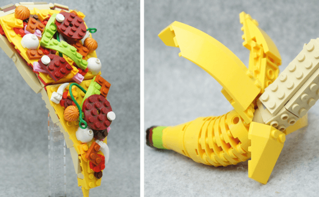 Japanese Lego Master Builds Food From Lego 1