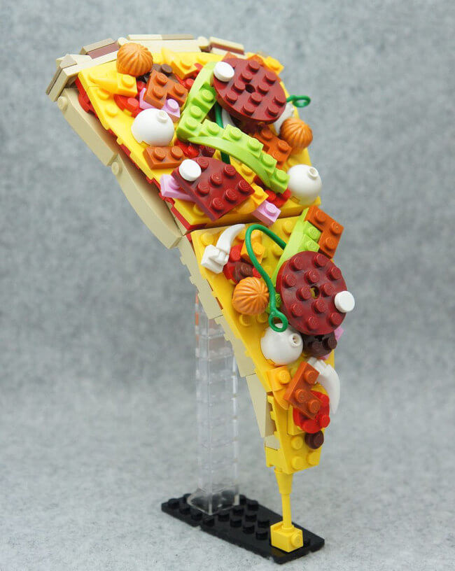 Japanese Lego Master Builds Food From Lego 2
