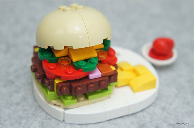 Japanese Lego Master Builds Food From Lego 11