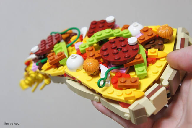 food from lego 3