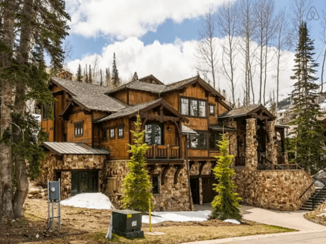 16 celebrity cribs that will only make you feel bad about for Celebrity homes in aspen