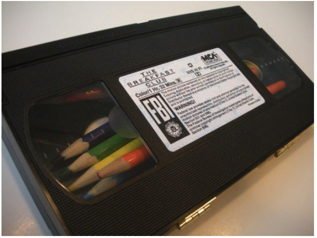 old vhs tape uses 2