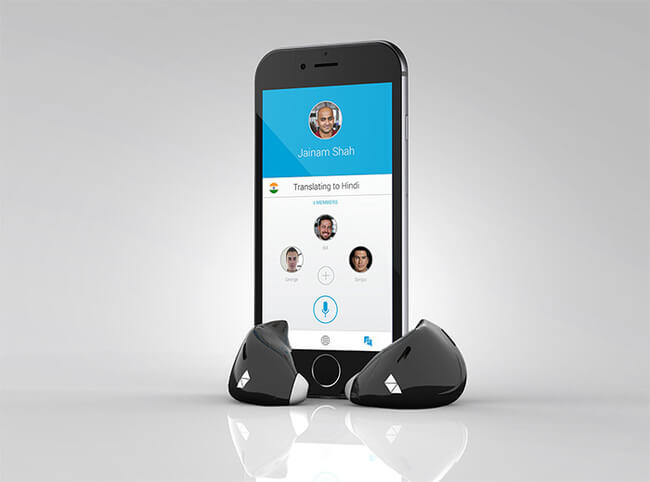 in Ear device Translates Foreign Languages in Real Time 4