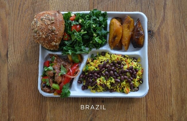 How School Lunches Around The World Look 9