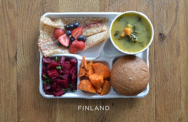 How School Lunches Around The World Look 8
