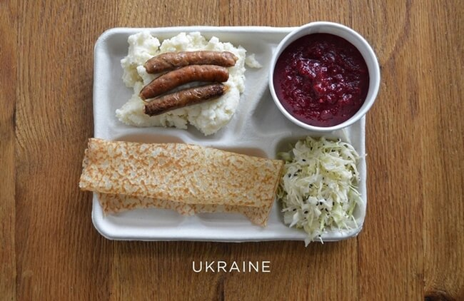 How School Lunches Around The World Look 2