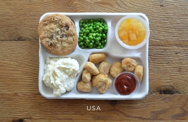 How School Lunches Around The World Look 1