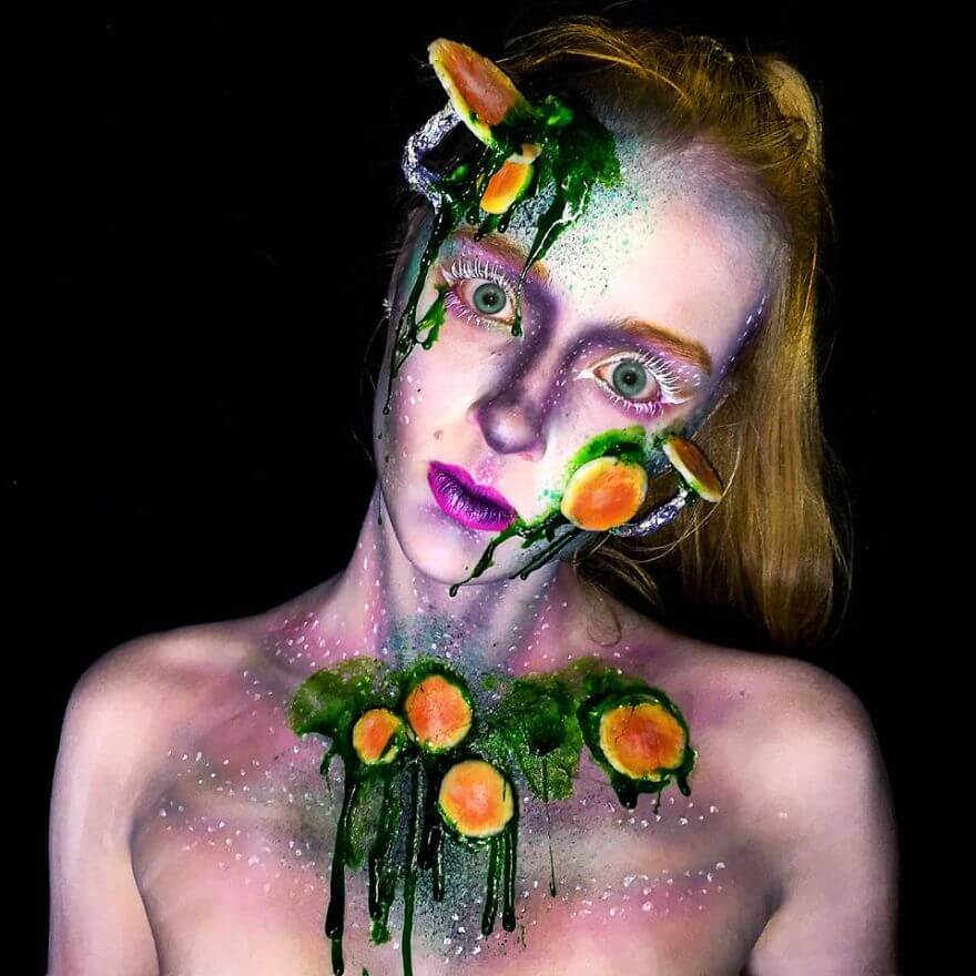 16 Years Old Special Effects Makeup Artist Loves Turning Herself ...
