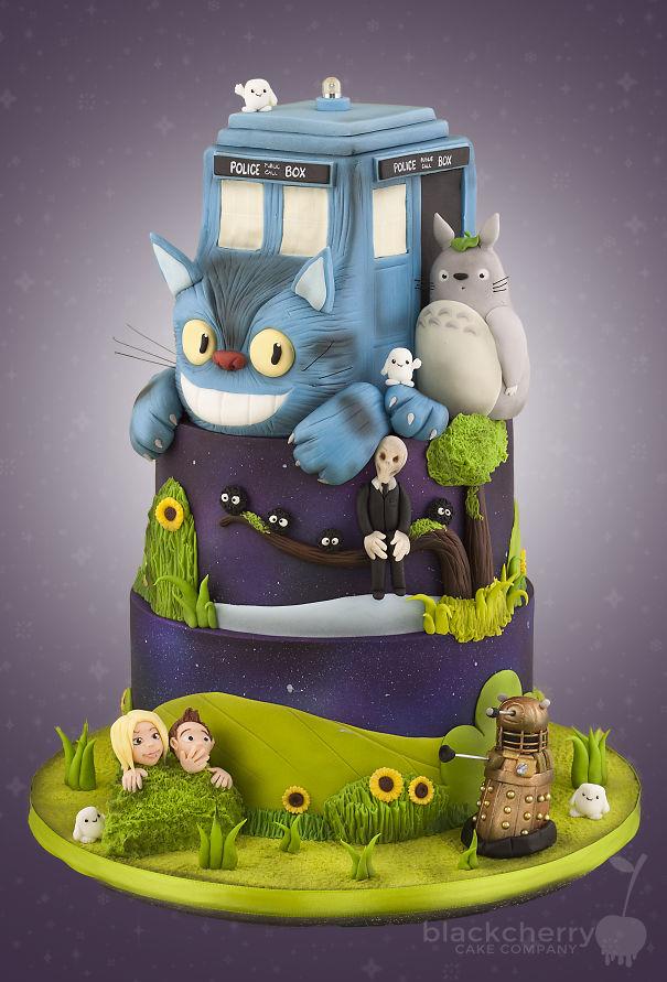totoro cake 11