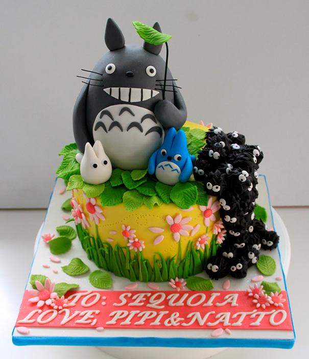 totoro cake 12