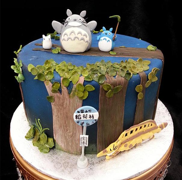 totoro cake 17